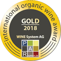 Oro 95 PAR Punti, Internationaler Bioweinpreis 2018